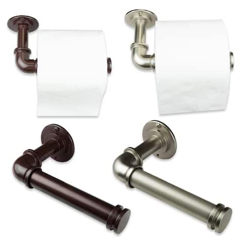 InStyleDesign Industrial Pipe Design Single Toilet Paper/ Towel Holder