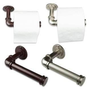 InStyleDesign Industrial Pipe Design Single Toilet Paper/ Towel Holder