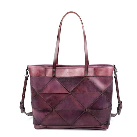 Old Trend Prism Genuine Leather Tote Bag