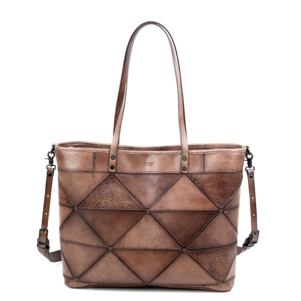 Old Trend Prism Genuine Leather Tote Bag. Opens flyout.