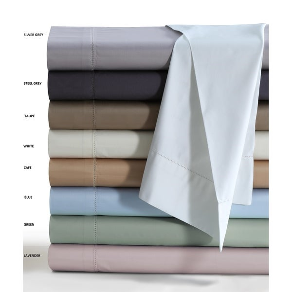 Flat Sheet Full Size Dark Grey Solid 600 TC Cotton Top Bed Flat Sheet All SIZE