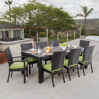 Oliver & James Paul 9-piece Patio Dining Set (Option: Ginkgo Green)