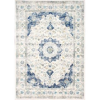Buy Blue Area Rugs Online at Overstock | Our Best Rugs Deals Beachy Kitchen Ideas Grey Blue Html on