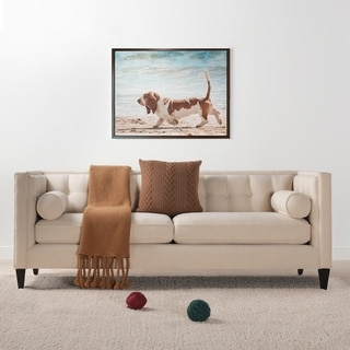 The Curated Nomad La Bica Tuxedo Sofa w/ Bolster Pillows