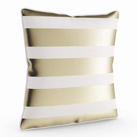 Porch & Den Floyd 18-inch Striped Throw Pillow Shell