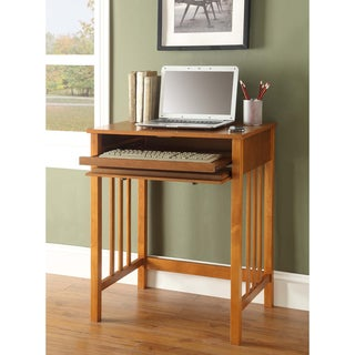Link to Porch & Den Miro Wooden Mission Desk Similar Items in Home Office Furniture