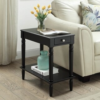 Laurel Creek Hugo Wooden Chairside Table (3 options available)