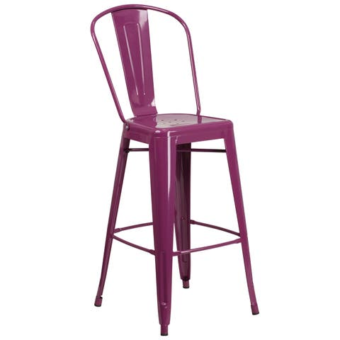 The Curated Nomad Hado 30-inch Barstool