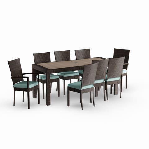 Havenside Home Gion 9-piece Outdoor Dining Set