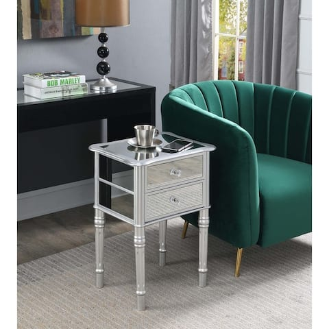 Silver Orchid Talmadge End Table