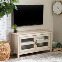 Havenside Home Jacksonville 44-inch Wood TV Stand and Storage Console