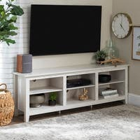 Porch & Den Dexter 70-inch Wood Media TV Stand