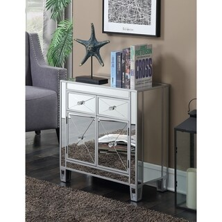 Maison Rouge Chopin 2-drawer Mirrored Cabinet