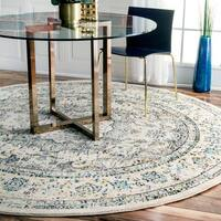 Maison Rouge Radovan Traditional Vintage Round Rug