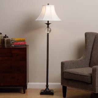 Glass/ Metal Floor Lamp