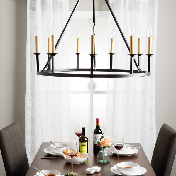 Old World Dining Room Chandeliers: Shop Old World 9-light Chandelier