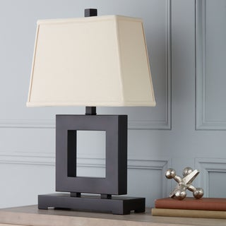 Patina/ Bronze Square Table Lamp