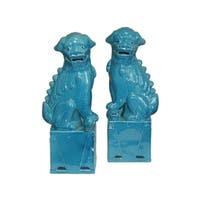 Sitting Foo Dog Figurine