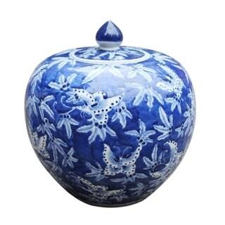 Handmade Butterfly Melon Jar