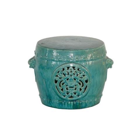 Handmade Sakiya Porcelain Garden Table or Stool