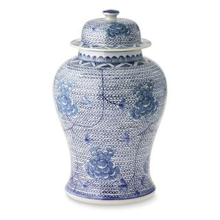 Handmade Chain Temple Jar