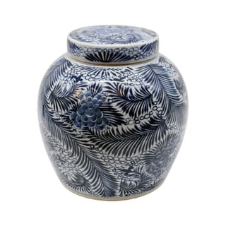 Handmade Blooming Flowers Ancestor Jar