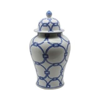 Handmade Lover Locks Temple Jar