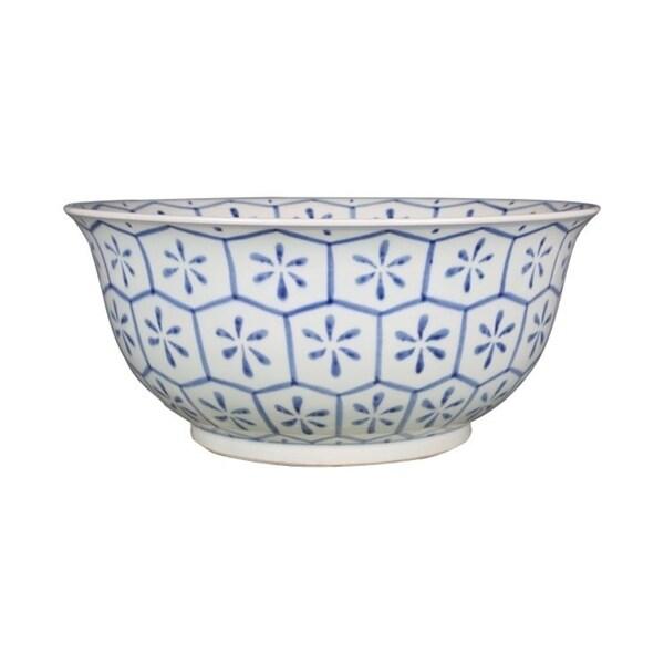 Handmade Turtle Shell Motif Bowl