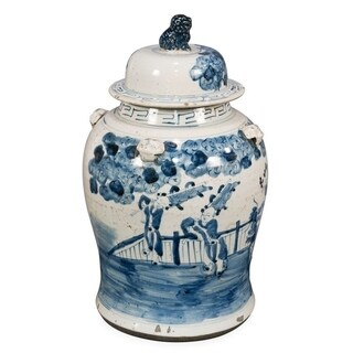Kylin Kids Vintage Small Temple Decorative Jar