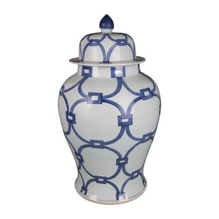 Lover Locks Temple Decorative Jar