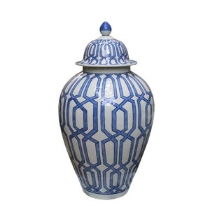 Crossing Dimaond Heaven Decorative Jar