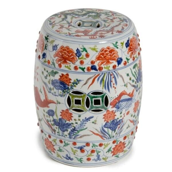 Shop Handmade Koi Porcelain Garden Table Or Stool Free