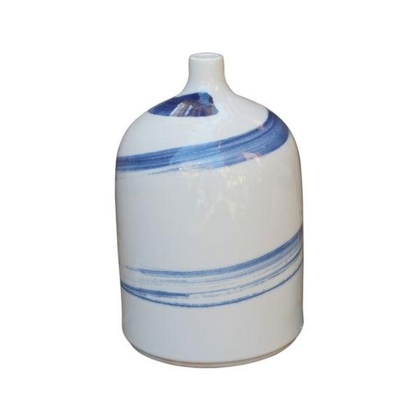 Handmade Brush Strokes Spin Large Bottle