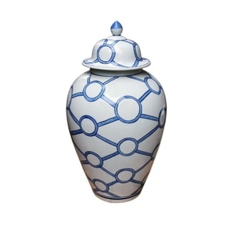 Handmade Crossing Circles Heaven Jar
