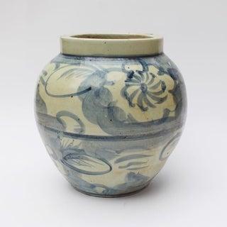 Handmade Silla Wide Mouth Twisted Flower Jar