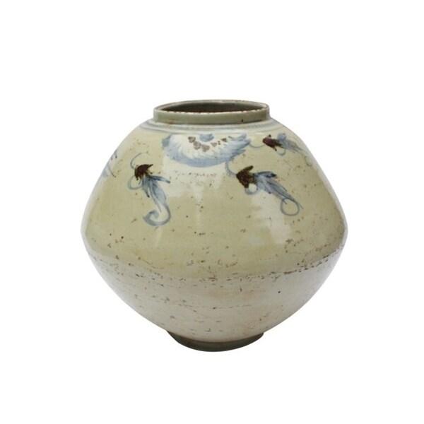 Handmade Silla Longevity Tappered Pot Planter