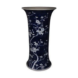 Handmade Plum Blossom Umbrella Stand
