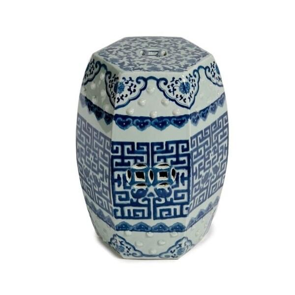 Handmade Tiago Porcelain Table or Stool