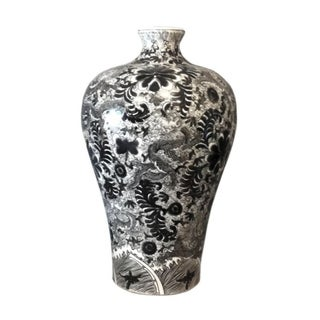 Handmade Dragon Prunus Vase