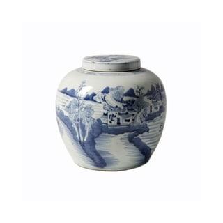 Handmade Ancestor Landscape Jar