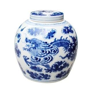 Handmade Dragon Cloud Ancestor Decorative Jar