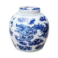Dragon Cloud Ancestor Decorative Jar