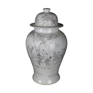 Handmade Playful Children Temple Jar