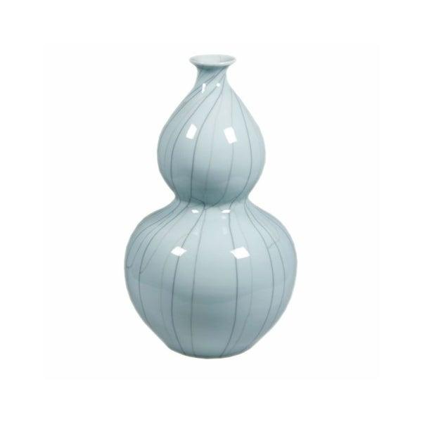 Handmade Crackle Gourd Vase