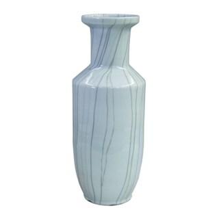 Handmade Crackle BaoZi Vase