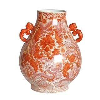 Handmade Dragon Deer Head Vase