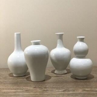 Bud 4 Piece Table Vase Set