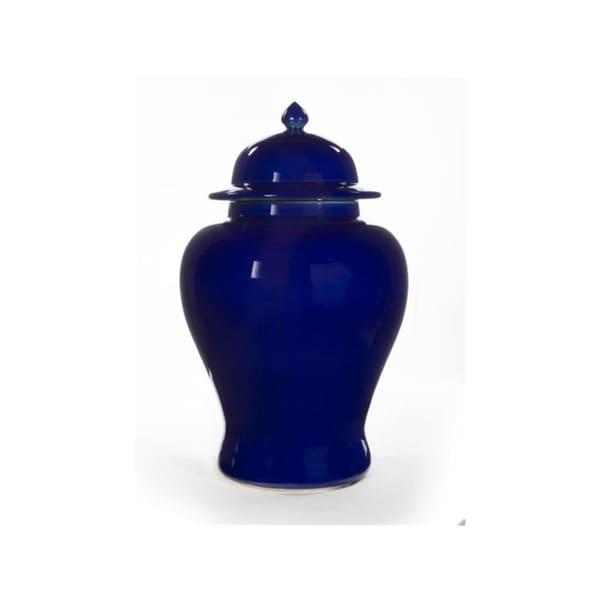 Handmade Gladys Porcelain Temple Jar