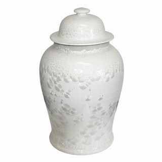 Crystal Shell Temple Decorative Jar