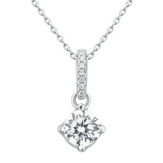 Divina Sterling Silver Cubic Zirconia Fashion Pendant